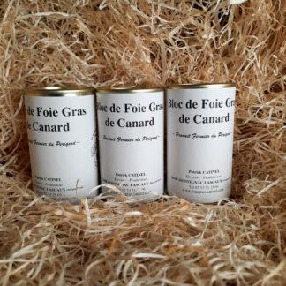 LOT DE 3 BLOCS FOIE GRAS DE CANARD 200G