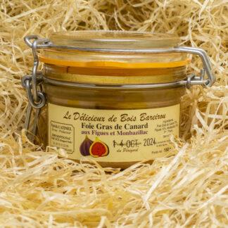 Foie gras de canard aux figues et Monbazillac