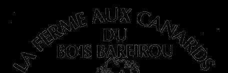 Logo Foie Gras Catinel Ferme aux Canards du Bois Bareirou Version noire demi